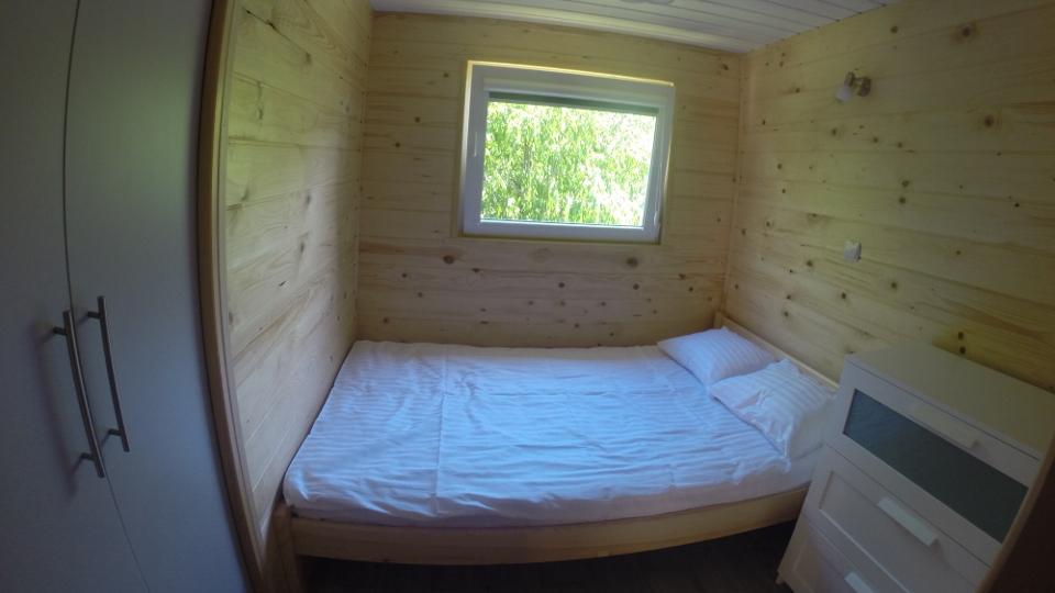 Wynajem domków Bobolin - sypialnia