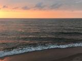 Bobolin zachód słońca